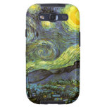 Van Gogh: Noche estrellada Galaxy S3 Protector