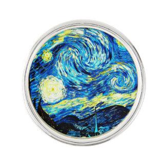 Van Gogh: Noche estrellada Insignia