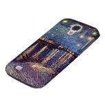 Van Gogh; Noche estrellada sobre el Rhone, arte de