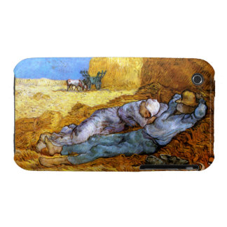 Van Gogh: Noon Rest from Work iPhone 3 Case-Mate Case