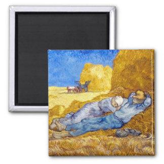 Van Gogh - Noon Rest From Work Magnet