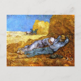 Vincent van Gogh: Noon Rest from Work