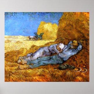 Vincent van Gogh: Noon Rest from Work