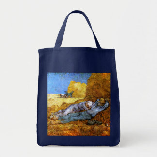 Van Gogh: Noon Rest from Work Tote Bag