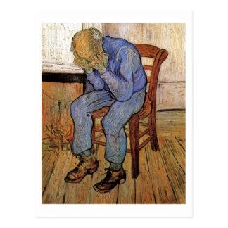 Van Gogh Old Man in Sorrow (F702) Postcard