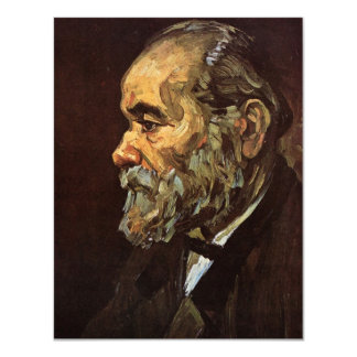 Van Gogh, Old Man with Beard, Vintage Portrait Card