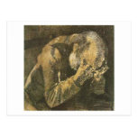 Van Gogh Old Man with Head in Hands (F998) Postcard