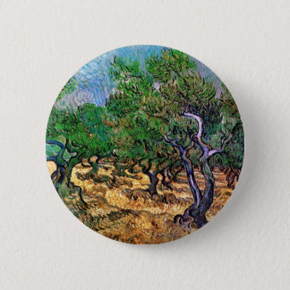 Van Gogh - Olive Grove Button