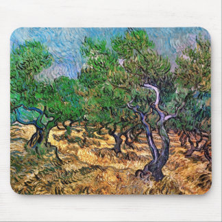 Van Gogh - Olive Grove Mouse Pad