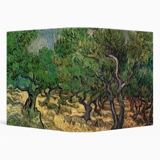 Van Gogh Olive Grove Vintage Impressionism Art Vinyl Binders