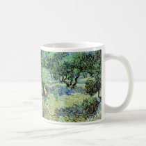 Van Gogh Olive Grove, Vintage Trees Fine Art Coffee Mug