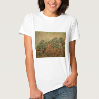 Van Gogh Olive Picking, Vintage Fine Art T-Shirt