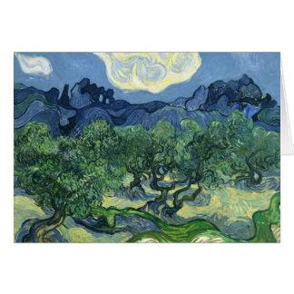 Van Gogh | Olive Trees | 1889 Card