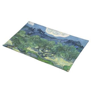 Van Gogh | Olive Trees | 1889 Cloth Place Mat