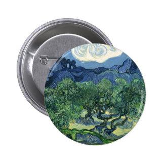Van Gogh | Olive Trees | 1889 Pinback Button