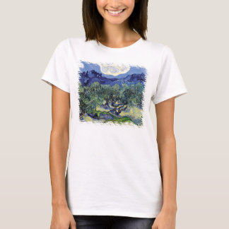 Van Gogh - Olive Trees In A Mountainous Landscape T-Shirt
