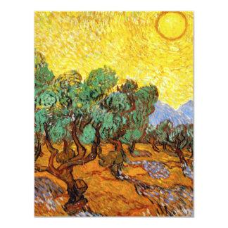 Van Gogh Olive Trees invitations
