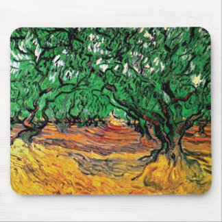 Van Gogh - Olive Trees Mouse Pad