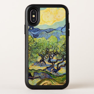 Van Gogh Olive Trees w Alpilles, Vintage Fine Art OtterBox Symmetry iPhone X Case