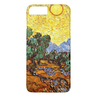 Van Gogh - Olive Trees with Yellow Sky and Sun iPhone 8 Plus/7 Plus Case