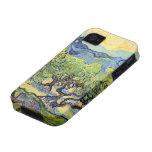 Van Gogh, olivos, impresionismo del poste del vint iPhone 4/4S Fundas