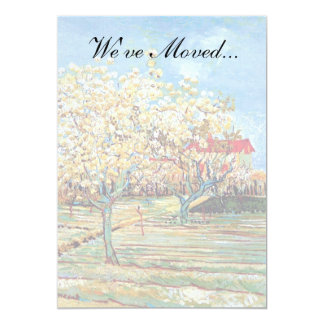 Van Gogh - Orchard In Blossom Card