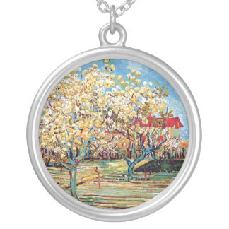 Van Gogh - Orchard In Blossom Necklace