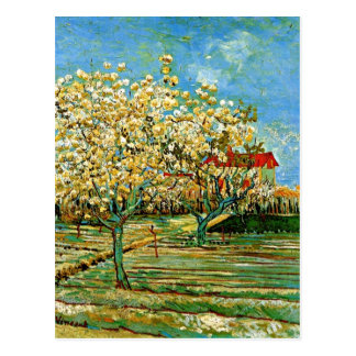 Van Gogh - Orchard in Blossom Postcards