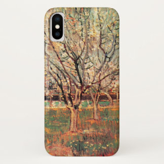 Van Gogh Orchard in Blossom Vintage, Fine Art iPhone X Case
