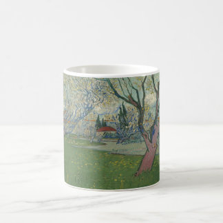 Van Gogh, Orchards in blossom, view of Arles Classic White Coffee Mug