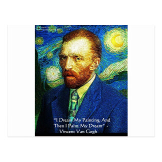 "Van Gogh ""Paint My Dreams"" Gifts Mugs Cards Etc"