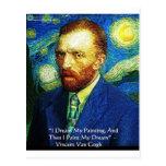 "Van Gogh ""Paint My Dreams"" Gifts Mugs Cards Etc"