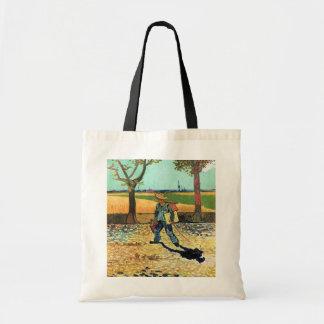 Van Gogh - Painter On His Way To Work Budget Tote Bag