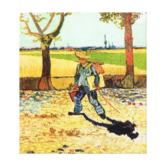 Van Gogh: Painter on His Way to Work Canvas Print
