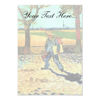 Van Gogh - Painter On His Way To Work Card