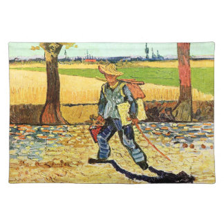 Van Gogh: Painter on His Way to Work Cloth Placemat