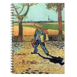 Van Gogh - Painter On His Way To Work Notebook