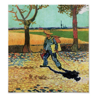 Van Gogh - Painter On His Way To Work Poster