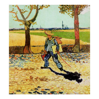 Van Gogh: Painter on His Way to Work Posters