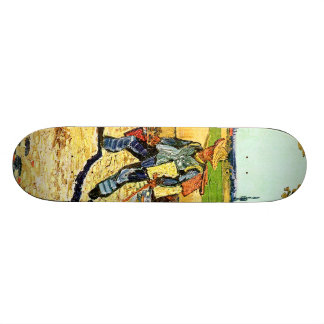 Van Gogh: Painter on His Way to Work Skateboard