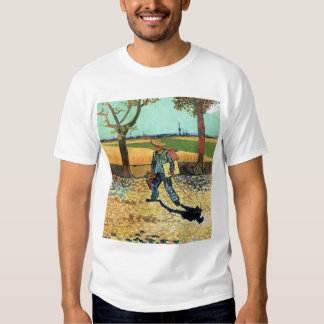 Van Gogh - Painter On His Way To Work T-shirt