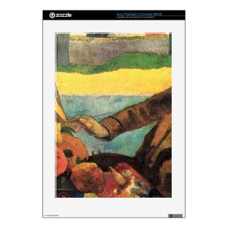 Van Gogh Painting Sunflowers by Gauguin PS3 Skins