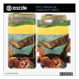 Van Gogh Painting Sunflowers by Gauguin Decal For HTC T-Mobile G2