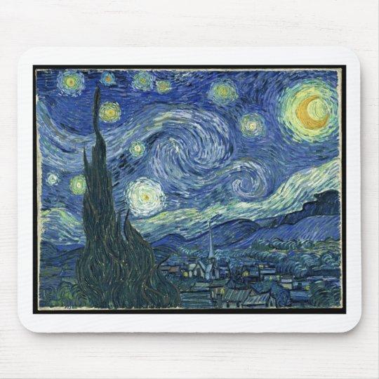 Van Gogh Paintings: Starry Night Van Gogh Mouse Pad