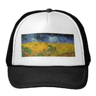 Van Gogh Paintings: Van Gogh Wheat Field Hats