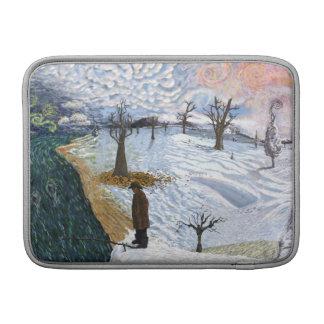 Van Gogh: Paisaje del invierno Funda MacBook