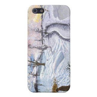 Van Gogh Paisaje del invierno iPhone 5 Funda