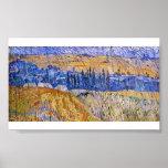 Van Gogh - paisaje en la lluvia Impresiones