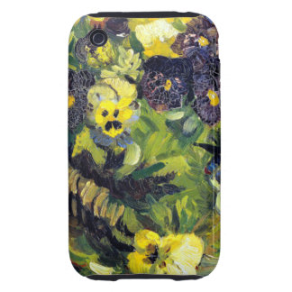 Van Gogh Pansies iPhone 3 Tough Case