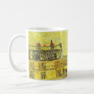 Van Gogh Paris View from Vincent's Room, Rue Lepic Coffee Mug